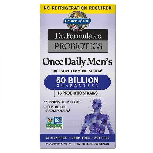 Probiotiká pre mužov Dr. Formulated