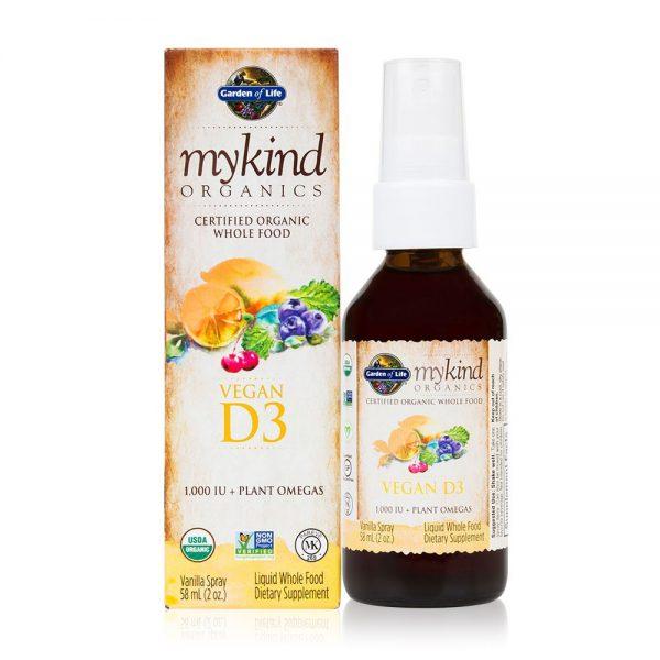 Vitamín D3 v spreji 1000 IU 58 ml