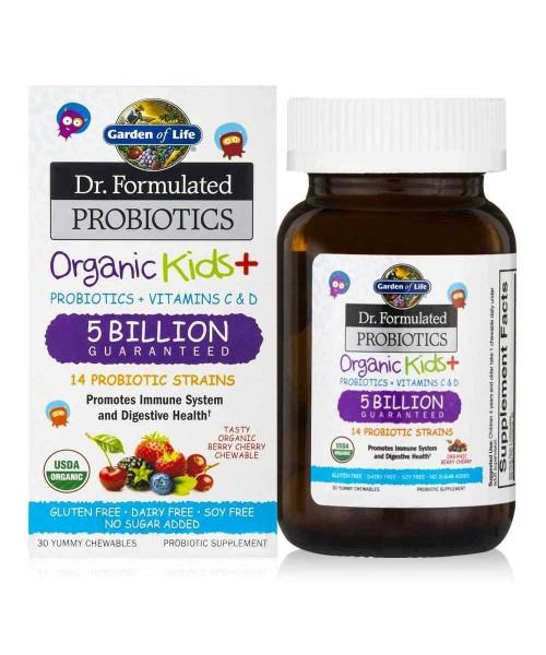 Dr. Formulated probiotiká pre deti - 5 miliárd CFU
