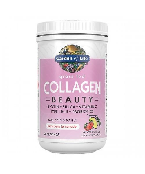 Collagen Beauty - jahoda a citrón 270g