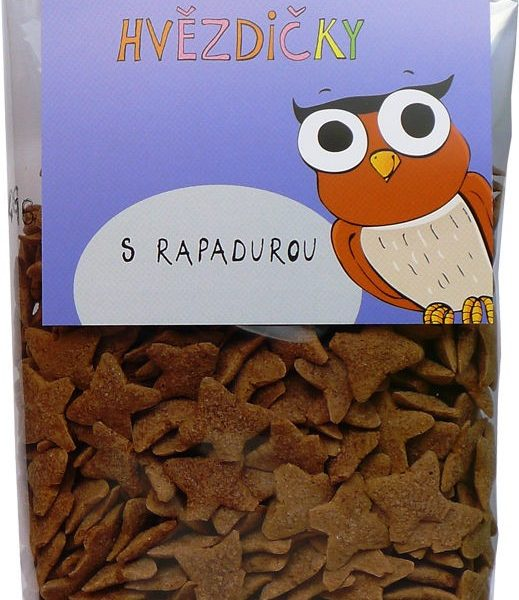 Kakaové hviezdičky s Rapadurou