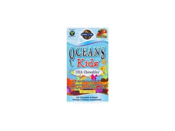 Oceans Kids DHA Omega 3 pre deti 120 kapsúl