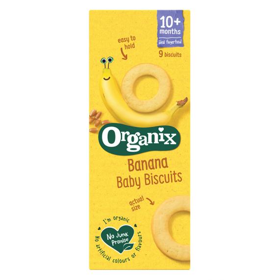 Banánové baby biscuits (54g)