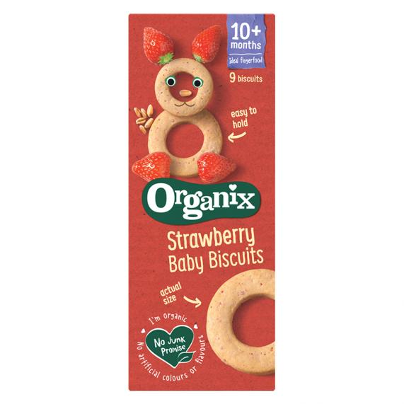 Jahodové baby biscuits (54g)