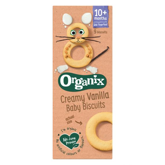 Vanilkové baby biscuits (54g)