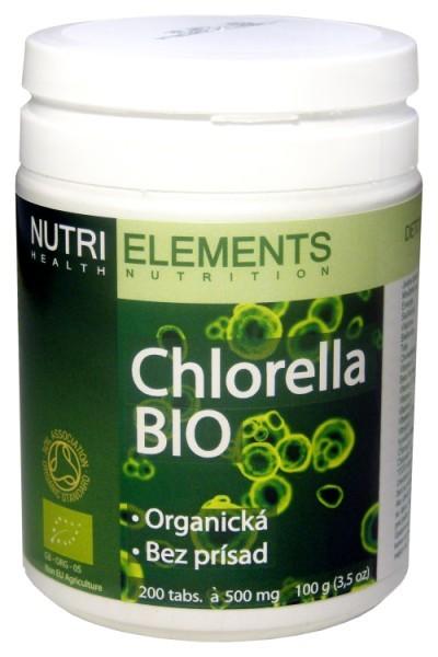 Chlorella tabletky