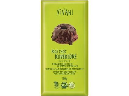 Čokoláda na varenie ryžová 150g - bio