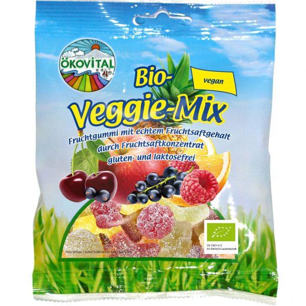 Cukríky Veggie mix gumené bez želatíny BIO 100g