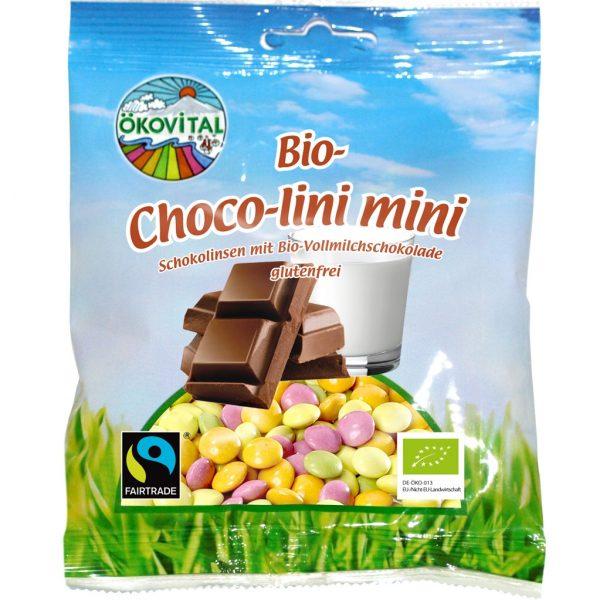Cukríky Čoko-lini Mini bezgluténové BIO 100g