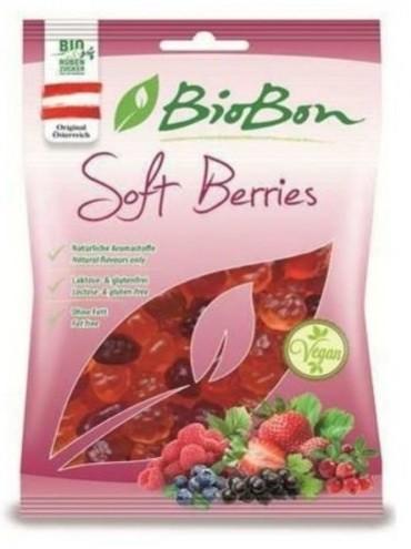 Cukríky Lesné ovocie bez želatíny bezgluténové BIO 100g