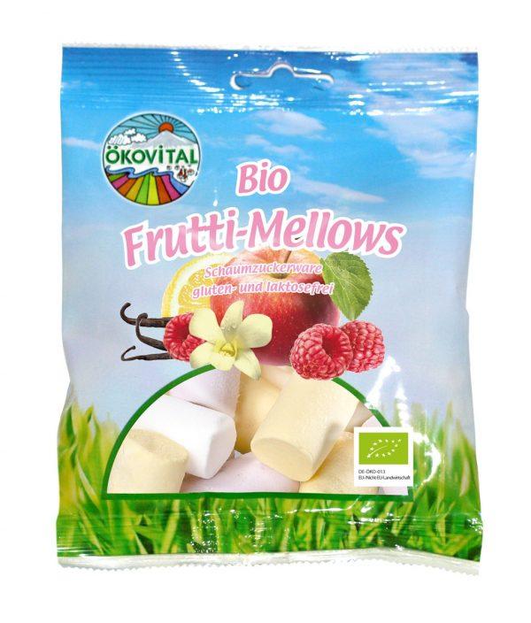 Cukríky Frutti – Mellows BIO 100g