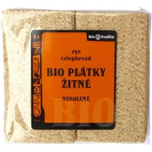 Plátky / sucháre chrumkavé so žitom 75g - BIO