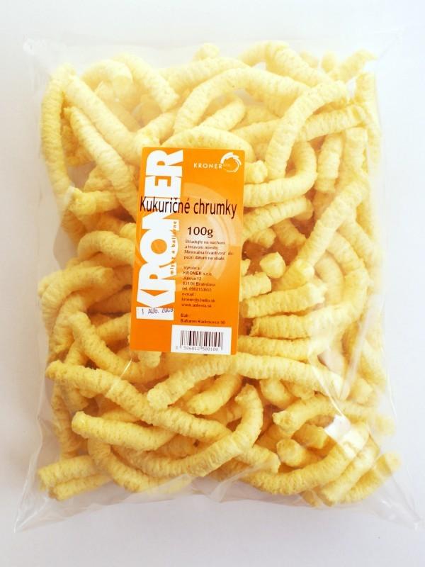 Chrumky kukuričné 100g KRONER