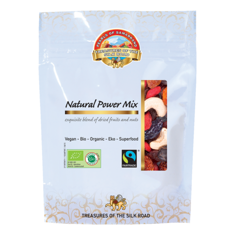 LEMBERONA Bio FAIRTRADE Natural Power mix zmes orechov-ovocia