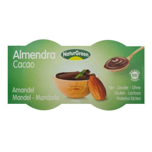 Dezert mandlový s čokoládou