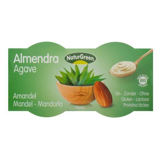 Dezert mandlový s agávovým sirupem