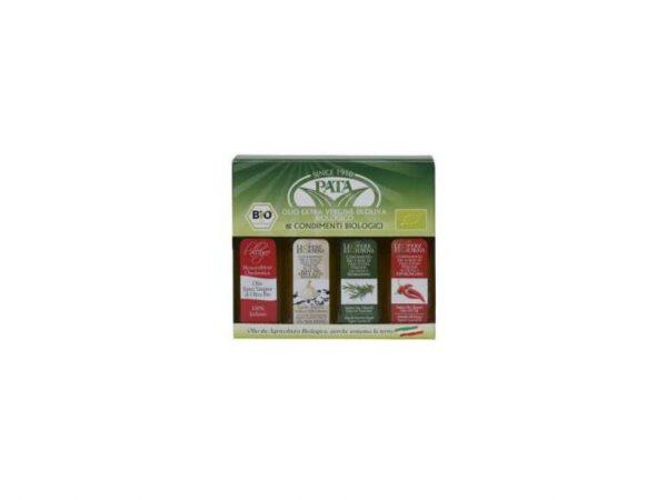 Mini set 4 olejov Pata- bylinková príchuť