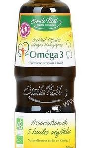 Olej omega 3 500 ml BIO EMILE NOËL