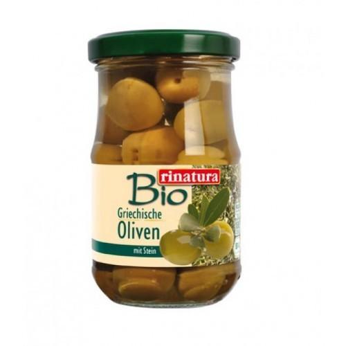 Zelené olivy s kôstkou BIO