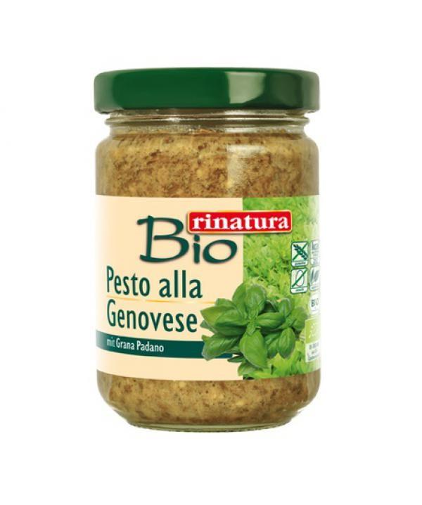 Pesto bazalkové bezgluténové BIO 125g