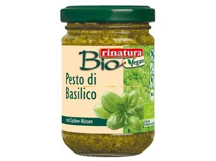Pesto bazalkové s kešu 125g