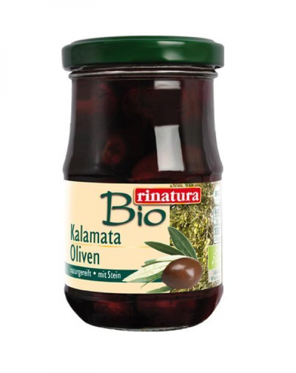 Olivy Kalamata s kôstkou BIO 110g