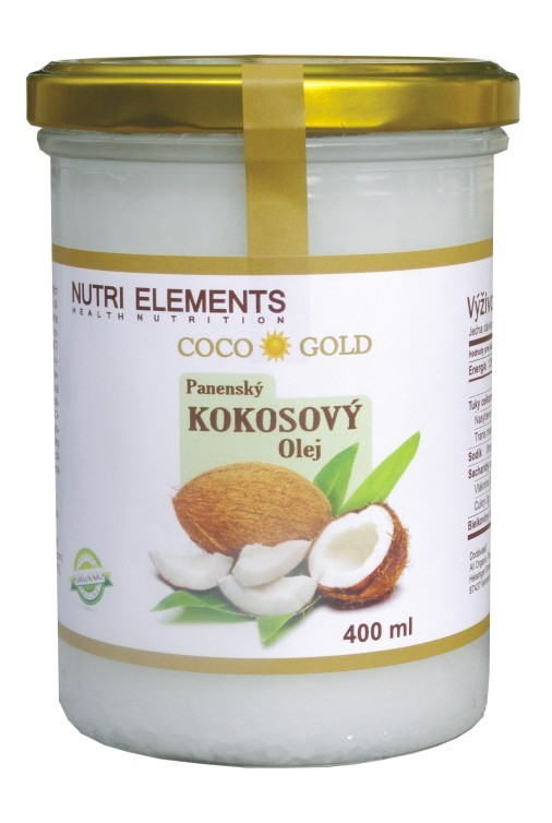 Extra panenský BIO Kokosový olej COCO GOLD 200ml