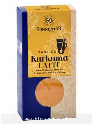 Kurkuma Latte - vanilka BIO