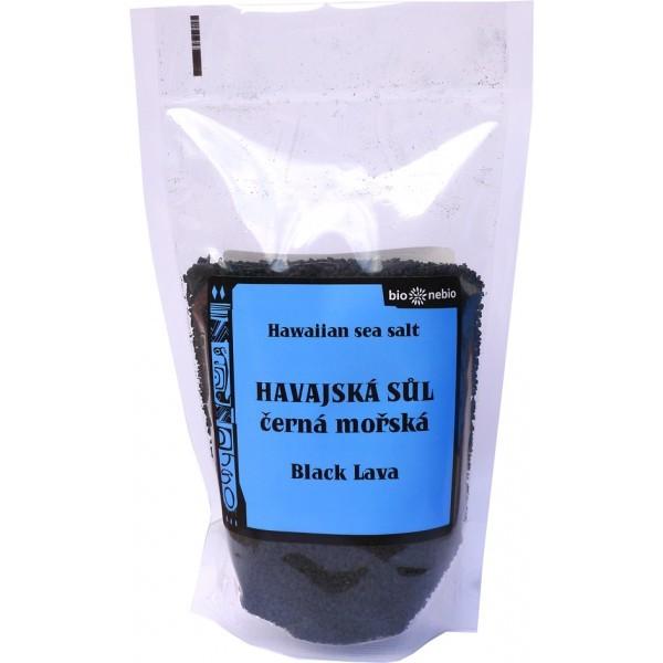 Havajská čierna morská soľ s aktívnym uhlím