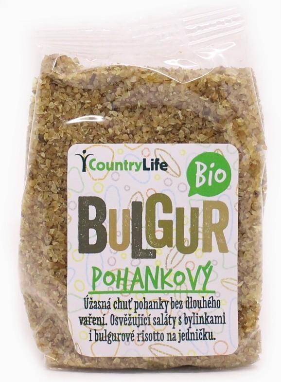Bulgur pohánkový bio 250g Countrylife