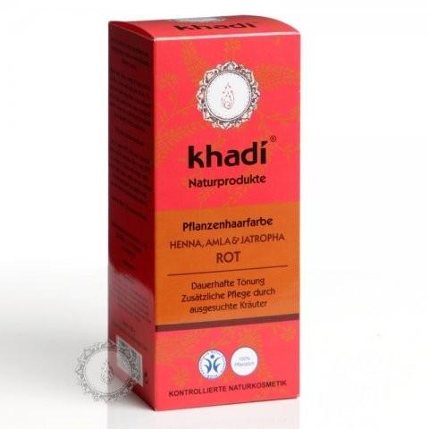 Prírodná farba na vlasy KHADI HENNA