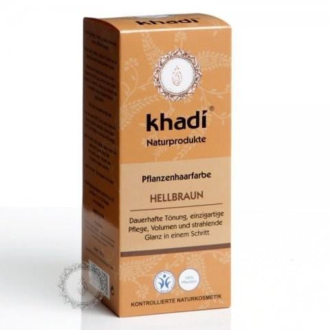 Prírodná farba na vlasy KHADI svetlo hnedá