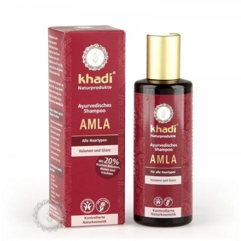 Šampón na vlasy KHADI AMLA - objem a lesk 210ml