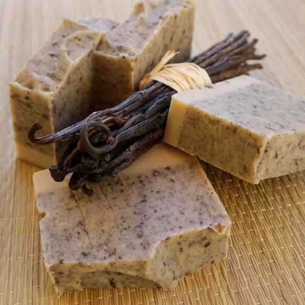 Vanilkové peelingové mydlo