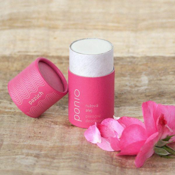 Ružová alej - prírodný deodorant