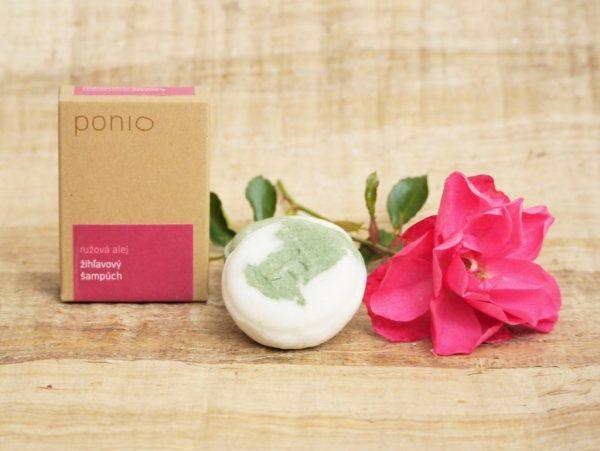 Ružová alej - žihľavový šampúch