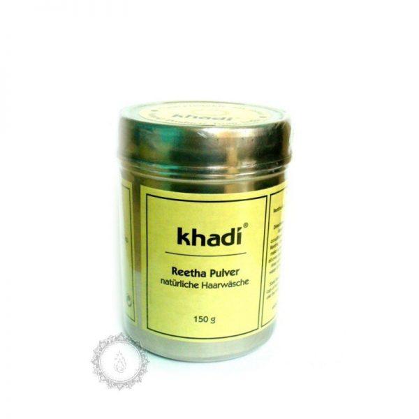 Khadi prášok REETHA – jemný šampón z mydlových orechov