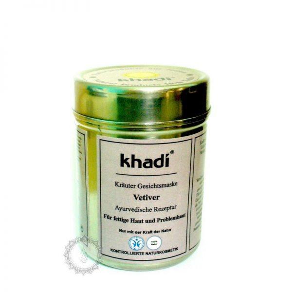Khadi bylinná pleťová MASKA VETIVER - proti akné