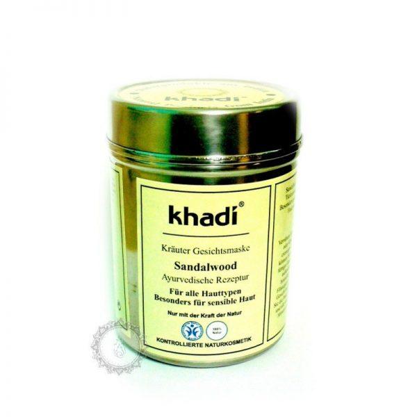 Khadi bylinná pleťová MASKA SANTALOVÉ DREVO