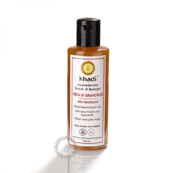Khadi sprchový gél NEEM & GRAPEFRUIT