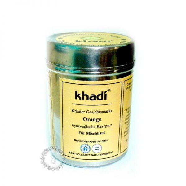 Khadi bylinná pleťová MASKA POMARANČ