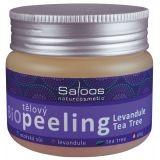 Levanduľa - telový peeling Saloos