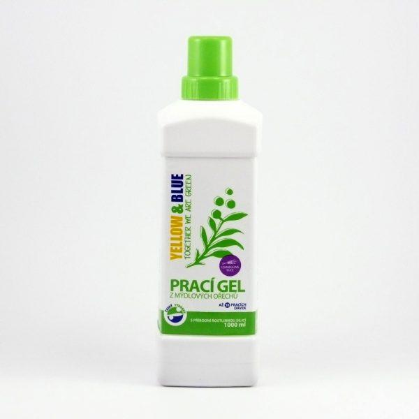 Prací gel z mydlových orechov levanduľový